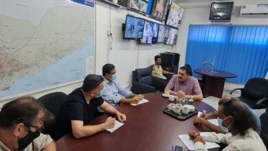 صورة مدير أمن #العاصمة_عدن يلتقي بمدير مكتب الأمن والسلامة للأمم المتحدة