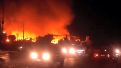 صورة مصر.. اندلاع حريق بالقرب من مطار القاهرة الدولي