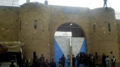 صورة بتواطؤ إخواني.. هروب جماعي من السجن المركزي بعتق