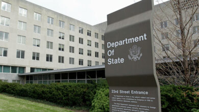 """صورة الخارجية الأمريكية ترحب بدعوة """"الوزاري الخليجي"""" لتحقيق السلام في اليمن"""