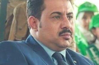 صورة رئيس انتقالي لحج يستنكر تخطي الجماعات الإرهابية نقاط الإخوان لاستهداف جنود الحزام الأمني في أبين