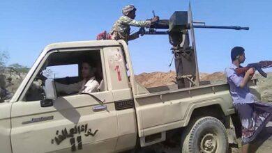 صورة قتلى وجرحى حوثيون في محاولة تسلل فاشلة شمال حيس
