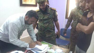 """صورة #عدن.. مدير مديرية #المنصورة يغلق مدرسة أهلية"""" لهذا السبب"""""""