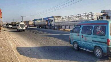 صورة تدشين خطة تنظيم حركة النقل في المنافذ الرئيسية بالعاصمة عدن