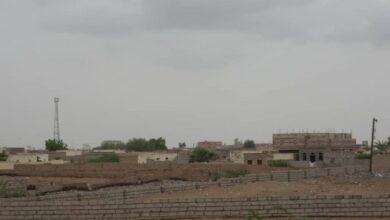 صورة مليشيا #الحوثي تستهدف مدينة #التحيتا بالمدفعية