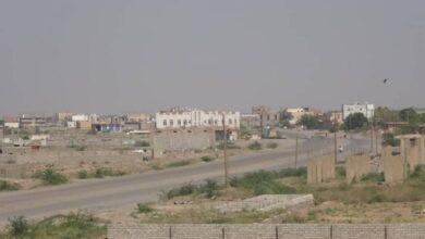 صورة المليشيات الحوثية تستهدف مدينة #حيس