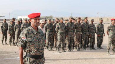 صورة تخرج دفعة جديدة من قوات #الحزام_الأمني بالعاصمة #عدن