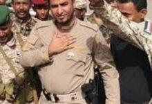 صورة قائد حزام الصبيحة يدين العملية الإجرامية التي استهدفت موكب قائد وأركان ألوية الدعم والإسناد بعدن