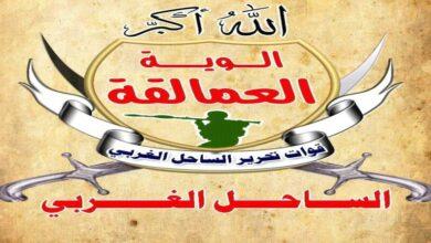 صورة مصدر عسكري: قوات العمالقة بصدد ضبط خلايا إخوانية تريد زعزعة الأمن والاستقرار في المخا