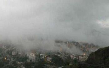 صورة الأرصاد.. توقعات بهطول أمطار على المرتفعات الجبلية الغربية