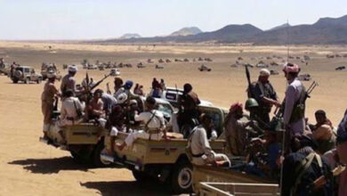 صورة مواجهات عنيفة بين مليشيا الإخوان وقبائل عبيده في مأرب