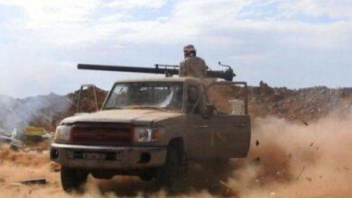 صورة اندلاع اشتباكات عنيفة بين القوات الجنوبية ومليشيا الحوثي شمال الضالع