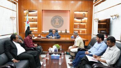 صورة الخُبجي: الاهتمام بأوضاع أسر الشهداء والجرحى على رأس سلّم أوليات المجلس الانتقالي