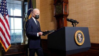 صورة وسط إجراءات أمنية مشددة.. ترقب لأول خطاب لبايدن أمام الكونغرس