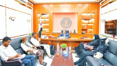 صورة الدكتور الخُبجي يطّلع على نشاط المفوضية الجنوبية لمكافحة الفساد بأبين