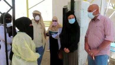 """صورة """"أطباء بلا حدود"""" تطلع على احتياجات المنشآت الصحية في مديرية زنجبار"""