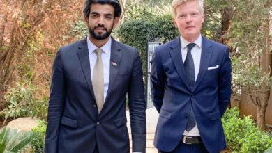 صورة الممثل الخاص للرئيس الزُبيدي يناقش مع رئيس بعثة الاتحاد الأوروبي تطورات الأوضاع ومسارات عملية السلام