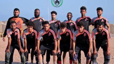 صورة اللواء الرابع يمطر شباك تقنية المعلومات بعشرة أهداف في منافسات دوري الدعم والإسناد لكرة القدم