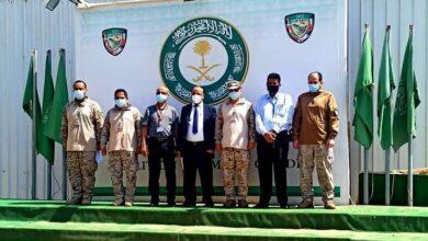 صورة وزير النقل يزور مقر قيادة #التحالف العربي بالعاصمة #عدن