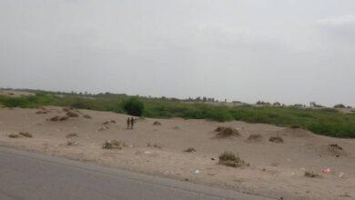 صورة مليشيات #الحوثي تستهدف القرى السكنية في #الجبلية