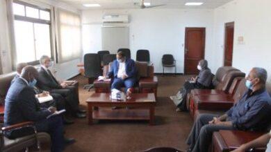 صورة وزير الشؤون الأجتماعية والعمل يبحث مع ممثل منظمة اليونيسف  سبل التنسيق المشترك بين المنظمة والوزارة