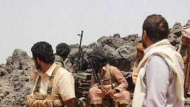 صورة مقاومة #البيضاء تشن هجوما على مواقع مليشيا الحوثي وسقوط قتلى وجرحى