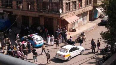 """صورة اندلاع اشتباكات عنيفة في #صنعاء اليمنية وسقوط قتلى وجرحى """" تفاصيل"""""""