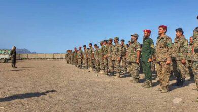صورة قوات الحزام الأمني تؤكد جاهزيتها لتنفيذ منع حمل السلاح في العاصمة عدن