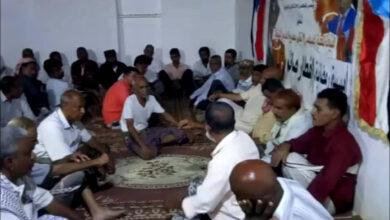 صورة حضرموت.. انتقالي الديس الشرقية يُقيم أمسية رمضانية للشخصيات العامة بالمديرية