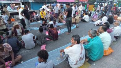 صورة انتقالي العاصمة عدن ينظم إفطاراً جماعياً بشارع مدرم بمناسبة الذكرى السادسة لتحرير #عدن