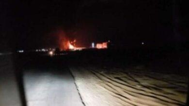 صورة مأرب.. مواجهات عنيفة بين مليشيا الإخوان وقبائل عبيده واحتراق عشرات القاطرات المحملة بالنفط والغاز