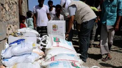 صورة خليفة الإنسانية تغيث 298 أسرة في سقطرى