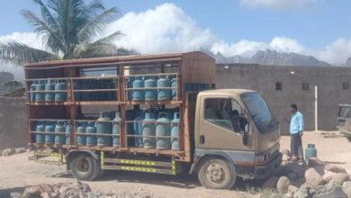 """صورة """"خليفة الإنسانية"""" تلبي احتياجات أهالي مركز 30 نوفمبر بـ حديبو من الغاز المنزلي"""