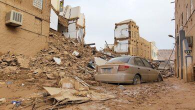 صورة الأمم المتحدة: آلاف العائلات اليمنية تضررت جراء الأمطار والفيضانات