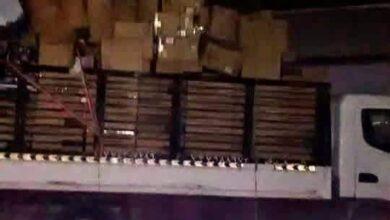 صورة الحزام الأمني يستعيد مسروقات تقدر بالملايين غرب العاصمة عدن
