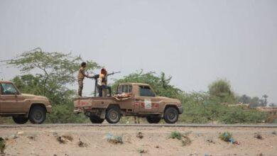 صورة القوات المشتركة تخمد تعزيزات وتحركات حوثية جنوب الحديدة