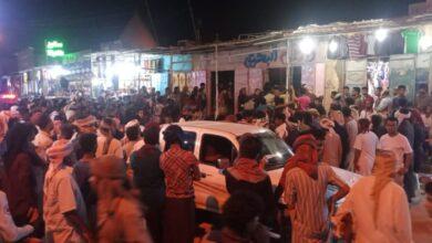 صورة حضرموت.. وفاة شخص وإصابة 10 آخرين في إنهيار سقف محل تجاري بالقطن
