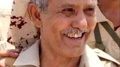 صورة قيادة ألوية الدعم والإسناد تعزي في وفاة المناضل عبدالله الحوتري