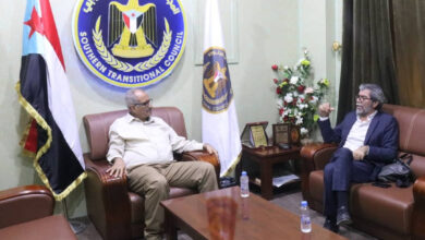صورة نائب الأمين العام يلتقي مدير مكتب المبعوث الأممي مارتن غريفيث