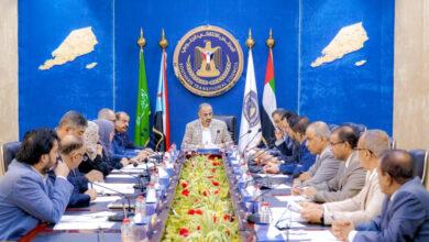 صورة هيئة رئاسة المجلس الانتقالي تقف على نتائج عمل اليوم الافتتاحي للدورة الرابعة للجمعية الوطنية