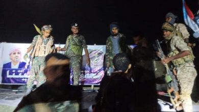 صورة مليشيا الإخوان الإرهابية تقتحم ساحة فعالية عبدان بشبوة (صور)
