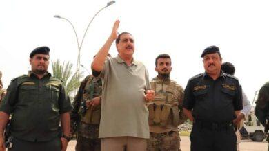 صورة مدير أمن العاصمة #عدن يزور المطار ويشيد بدور قوات الحماية  ويوجه بتسهيل إجراءات المسافرين