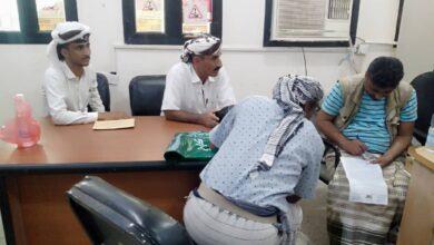 صورة اجتماع يناقش احتياجات الكهرباء في المسيمير بلحج