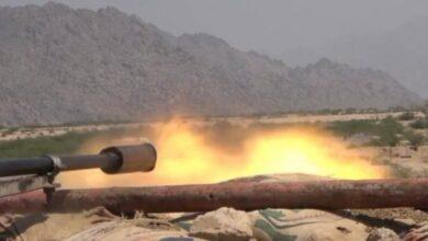 صورة كسر محاولة تسلل للحوثيين في حيس بالحديدة اليمنية