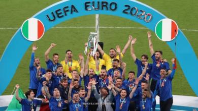صورة ركلات الترجيح تمنح إيطاليا لقب يورو 2020