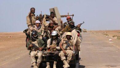 صورة القوات الجنوبية تتصدى لهجوم حوثي باتجاه الحدق في يافع