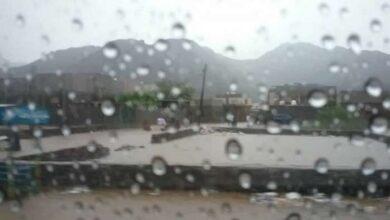 صورة الأرصاد يحذر استمرار هطول الأمطار على محافظات الجنوب