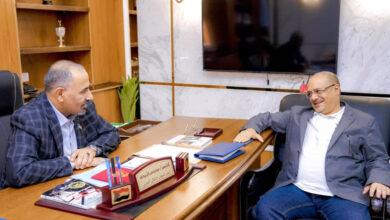 صورة الرئيس القائد عيدروس الزُبيدي يلتقي وزير التخطيط والتعاون الدولي في حكومة المناصفة الدكتور واعد باذيب