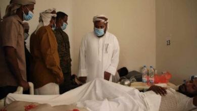 صورة رئيس تنفيذية انتقالي #سقطرى يطمئن على أحوال المرضى بمستشفى خليفة بحديبو