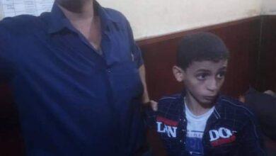 صورة إدارة أمن #عدن تعيد طفل مفقود إلى أسرته